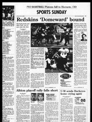 Battle Creek Sports History: Week of Nov. 25, 1996