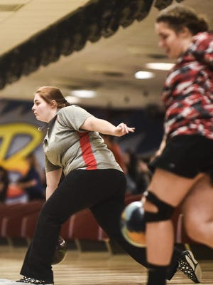 Elgin's Hallie Hall is the lone representative back from the girls bowling team that made back-to-back state tournaments.