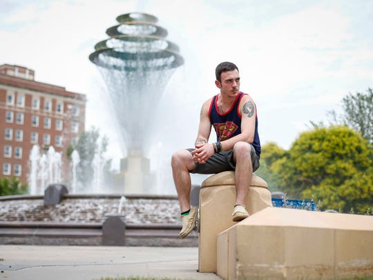 Caleb Byers of Council Bluffs, a student at the University
