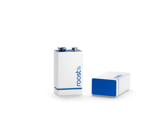 Roost batteries fit into any smoke detector and bring