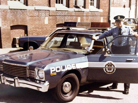 Tuesday, Dec. 8, 2015--Then York City Police Sergeant Tom Gross in a 1979 photo. He retired in December of 2015. (Bill Kalina - The York Dispatch)
