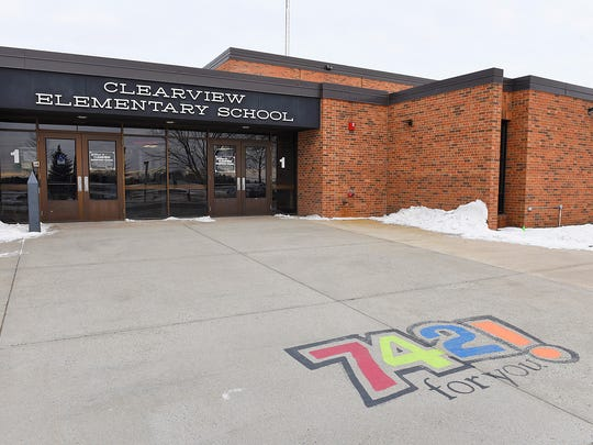 Clearview Elementary School, shown here in 2016, was recognized for its Positive Behavioral Intervention and Supports program for the 2019-20 school year.
