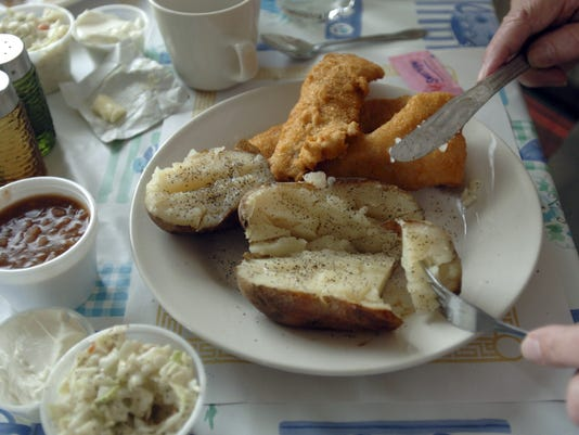 Fish fry at Elks Club