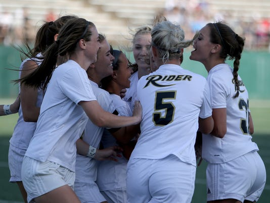 Rider Northwest girls soccer playoff