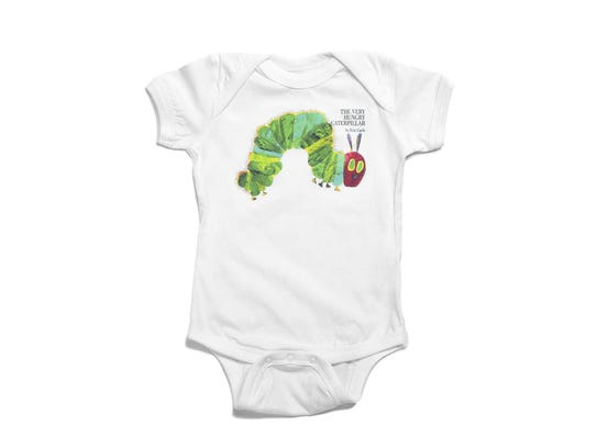 The Very Hungry Caterpillar bodysuit