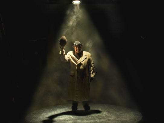 Richard Zavaglia plays Vince Lombardi in Riverside
