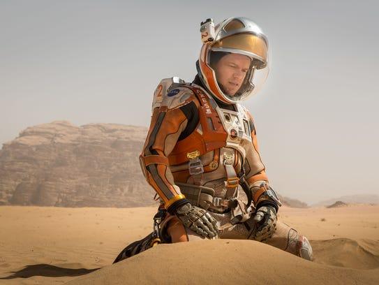 Matt Damon in 'The Martian.'