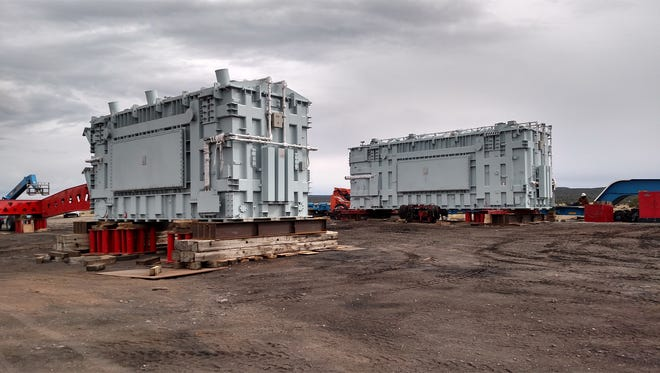 The heaviest load ever to be transported on New Mexico public roads will come through Shiprock. Its final destination is the Pinto substation in Monticello, Utah.