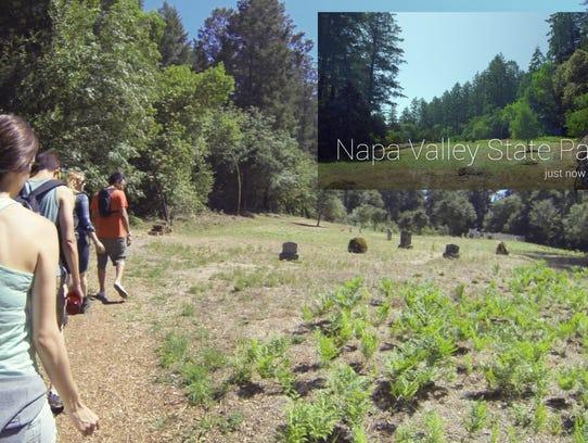'Field Trip' app on Google Glass