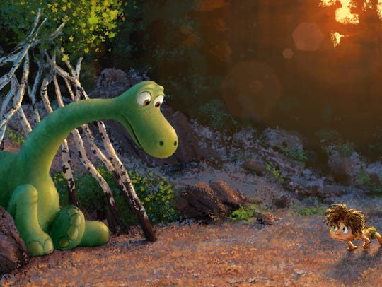 Pixar's 'The Good Dinosaur' has an almost entirely