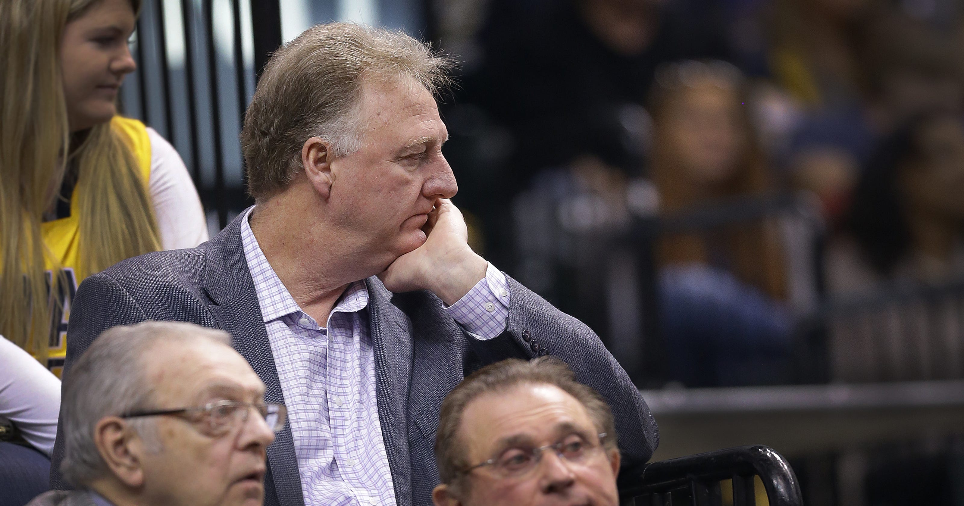 0ce321d0241 Doyel: Larry Bird leaves the Paul George problem to someone else