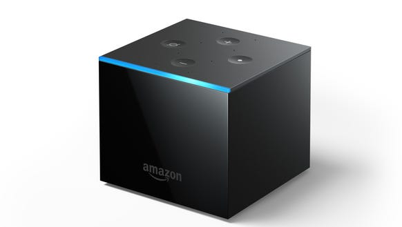 Amazon's Fire TV Cube media player is indeed cube-shaped.