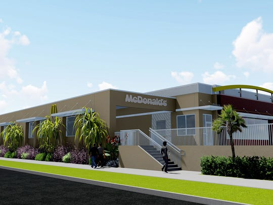 McDonald's plans to tear down and rebuild its West Pensacola Street location in the University Village Plaza