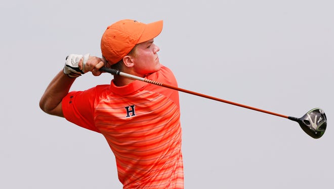 Harrison golfer Nic Hofman completed a rare double-double with his match play championship Friday at the Indiana Junior.