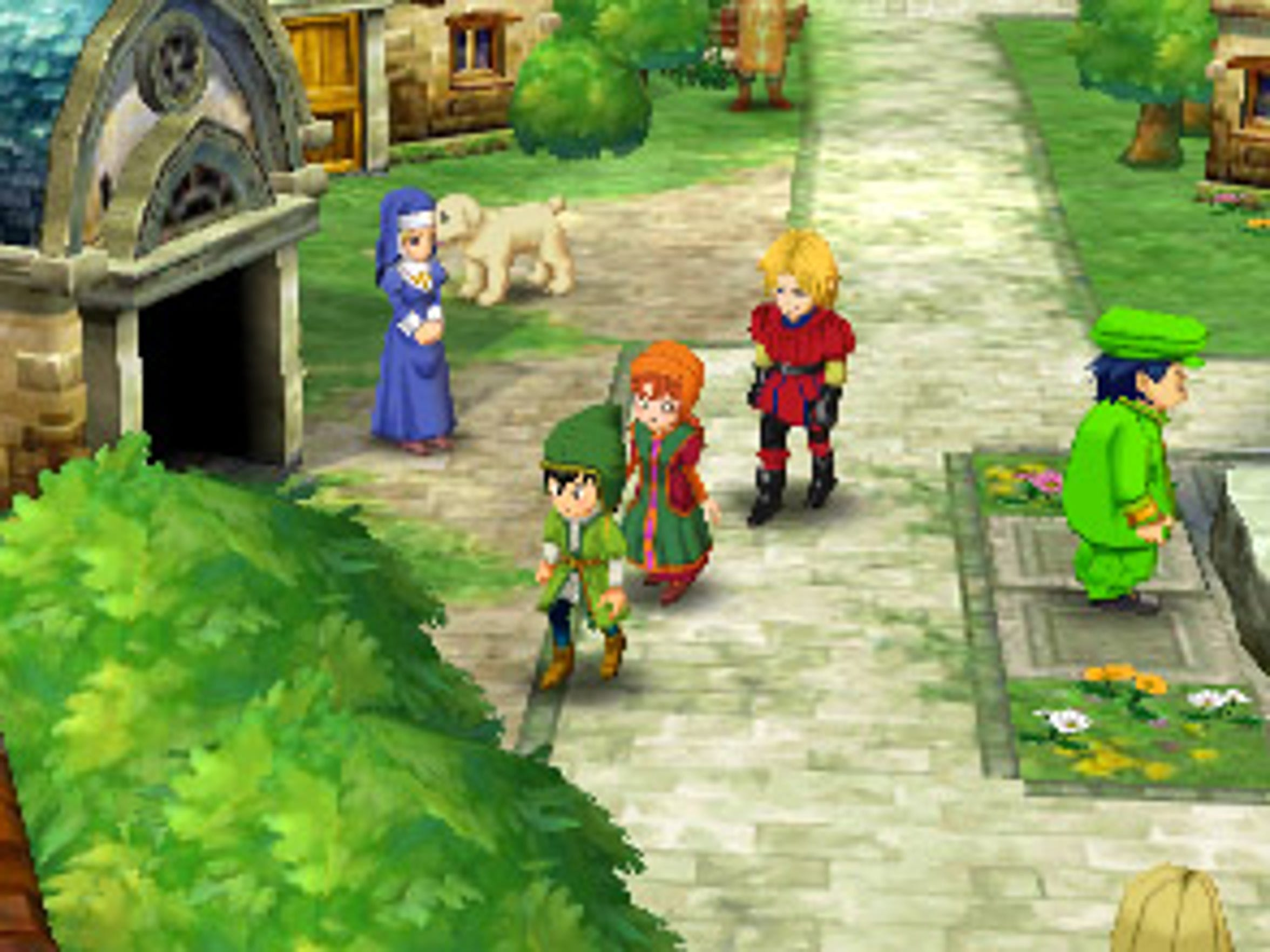 """Dragon Quest VII: Fragments of Forgotten Past"" features"