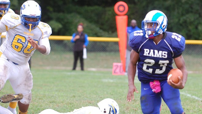 Salem senior running back Jonathan Taylor leads South Jersey in rushing yards and total touchdowns.