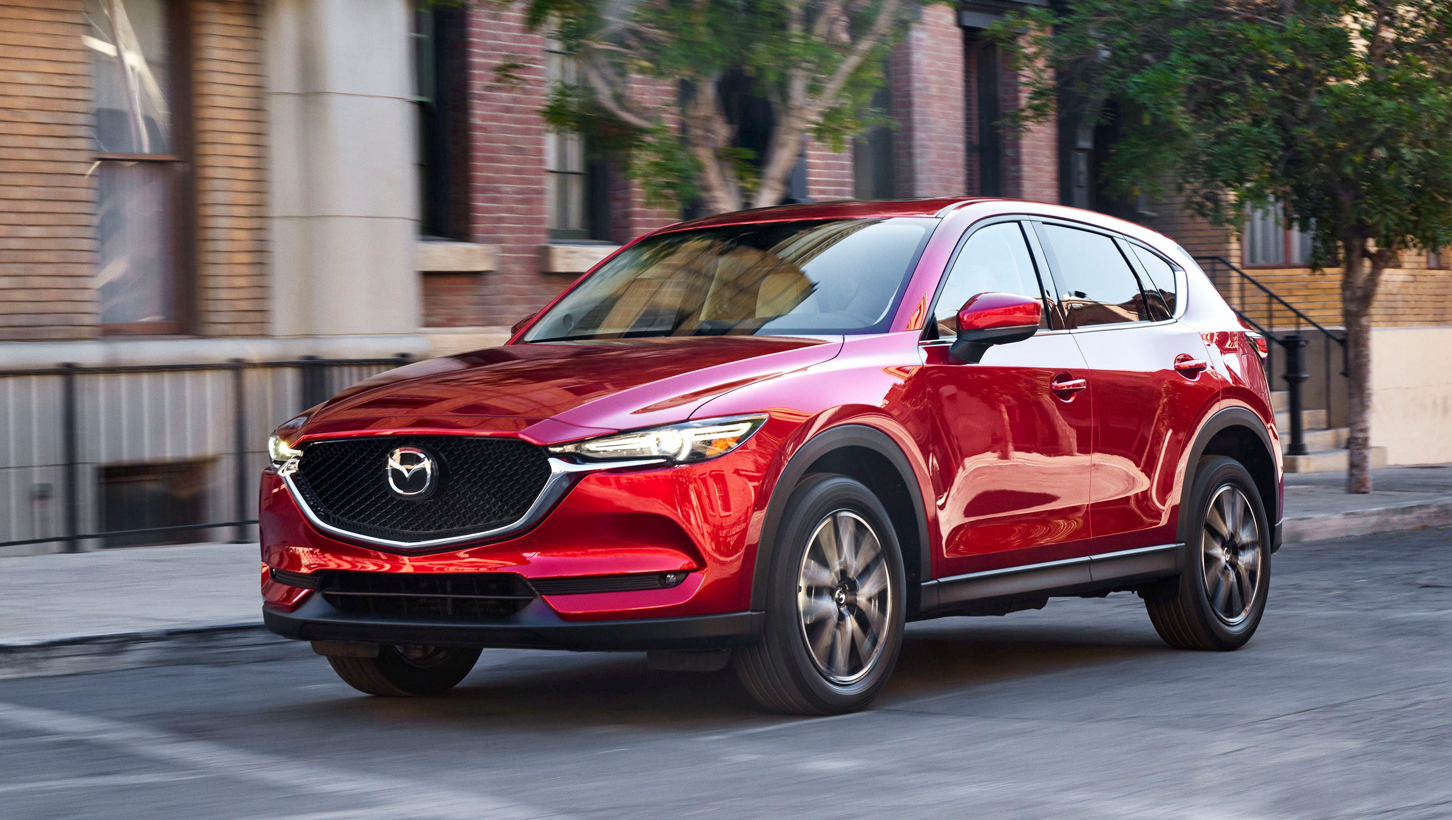 mazda adds diesel power to restyled cx 5 suv. Black Bedroom Furniture Sets. Home Design Ideas