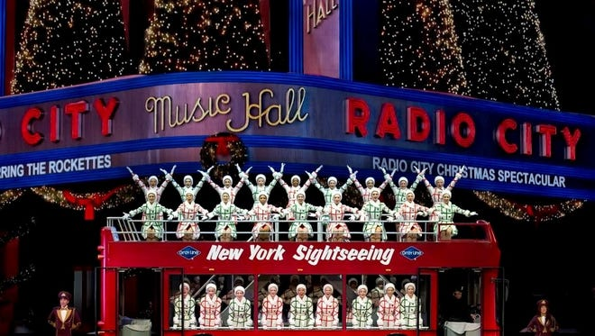 Let the Rockettes be your tour guide to the Christmas sights of New York.