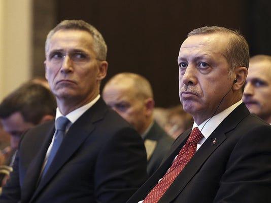 Recep Tayyip Erdogan,Jens Stoltenberg