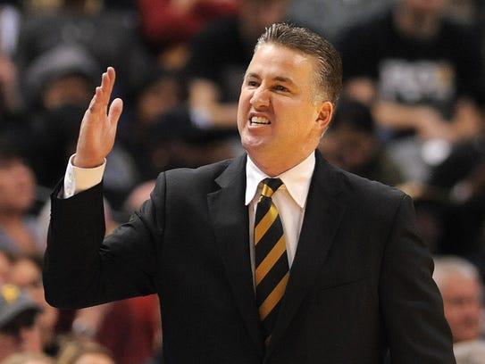 Purdue men's basketball coach Matt Painter.