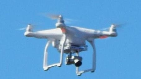 A reader spotted this drone near Craggy Gardens on the Blue Ridge Parkway.