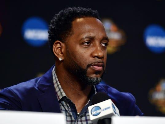 NCAA Basketball: Final Four-Naismith Hall of Fame Press Conference