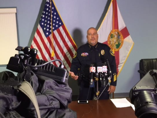 Cocoa Police Chief Mike Cantaloupe discusses charges