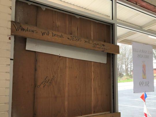 Whitner Street Grocery owner Cindy Vernier is encouraging