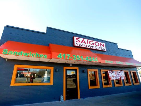 A new sandwich shop in north Springfield called Saigon