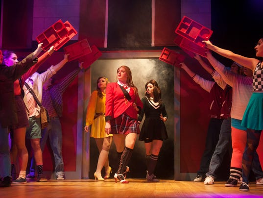 'Heathers: The Musical' revives 1980s film at Hammonton's ...