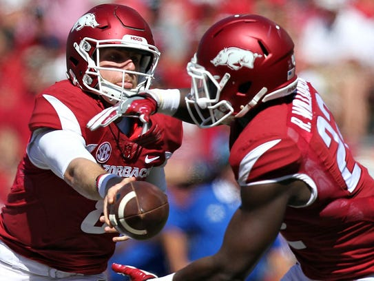 Austin Allen and the Arkansas offense will miss Rawleigh
