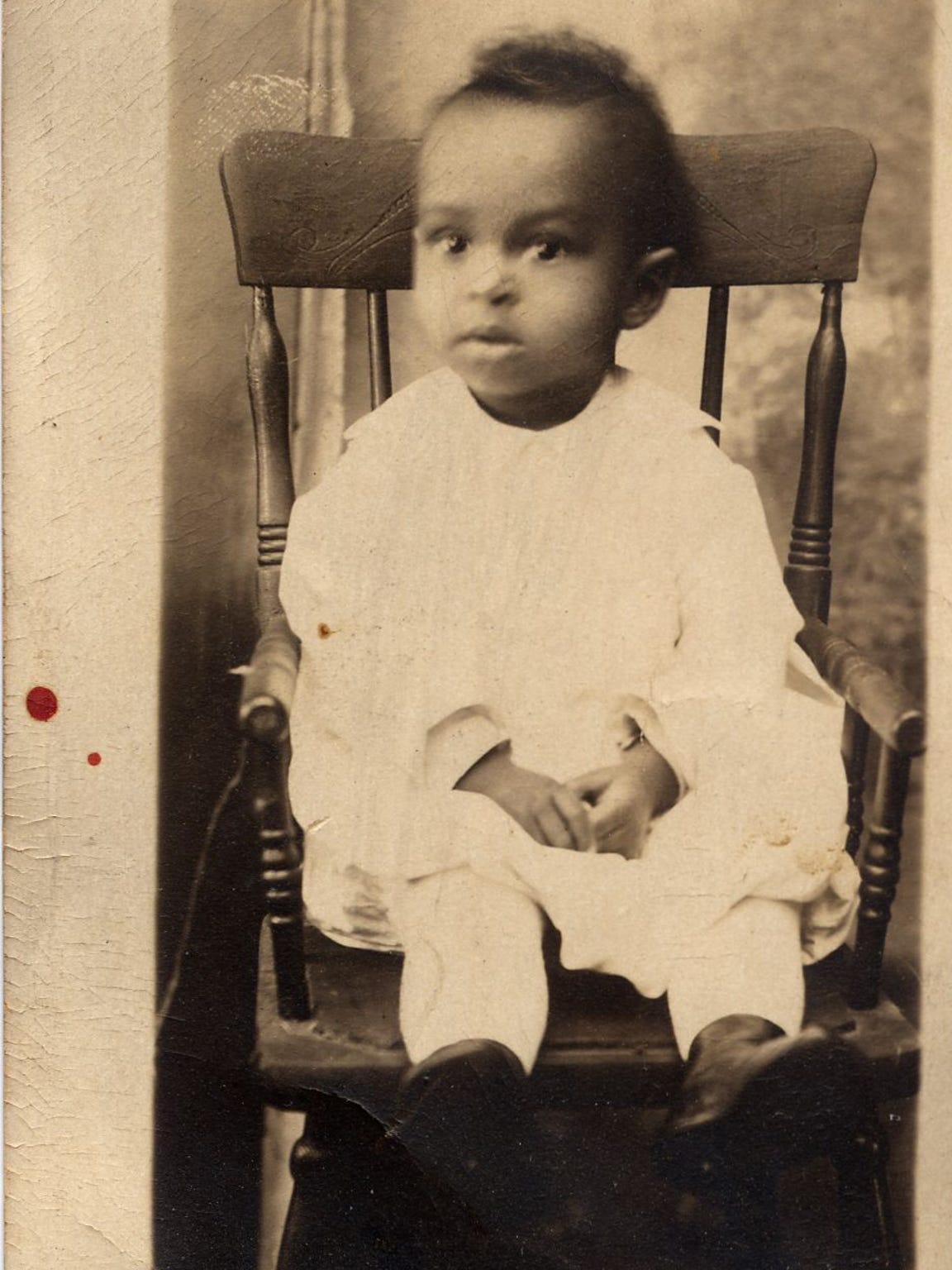 Childhood photo of George Warren Reed