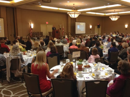 Hundreds gathered for the Space Coast Prayer Breakfast