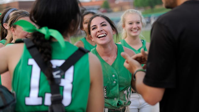 Huntington played against Chillicothe at home in a doubleheader Friday. In addition, the schools celebrated senior night between games.