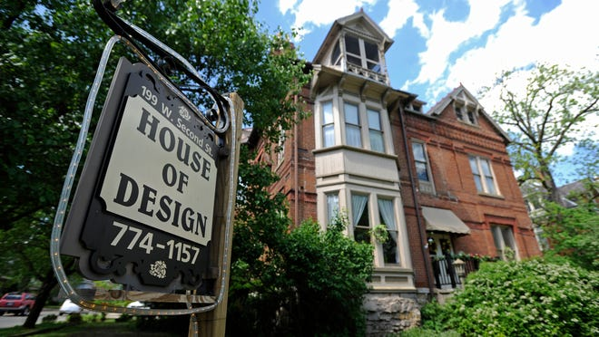 Local business House of Design, 199 West 2nd Street, is one of the historic houses that will be open for the public during the Chillicothe Restoration Foundation's Celebration of 2nd Street Saturday and Sunday.