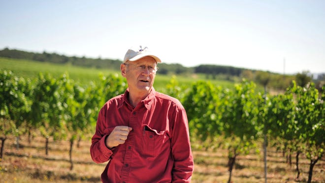 Lowell Ford, owner of Illahe Vineyards, is the recipient of the NW Wine Studies Center's inaugural Legacy Builder Award.