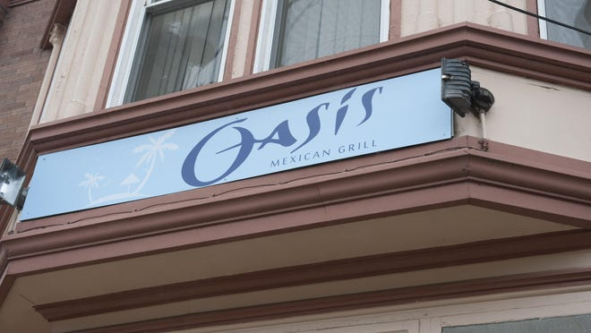 Oasis Mexican Grill opened on Haddon Avenue in Collingswood where Stella's Pizza used to be. Stella's moved to bigger digs across the street.