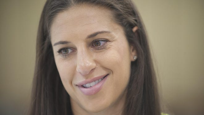Delran native and U.S. women's national soccer team midfielder Carli Lloyd is hungry for a 2015 World Cup title.
