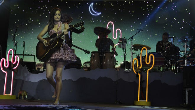 Kacey Musgraves performs at the Bonnaroo Music and Arts Festival on June 12 in Manchester, Tenn.