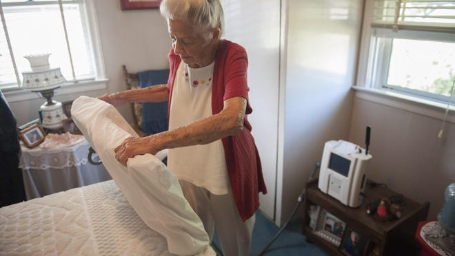 Bellmawr resident Betty Bupp says the CardioMEMS device used to help manage her heart condition has already saved her trips to the emergency room.
