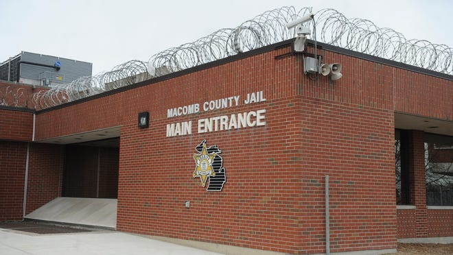 (caption information) Macomb County Jail complex in Mt. Clemens (Max Ortiz/The Detroit News) 2014