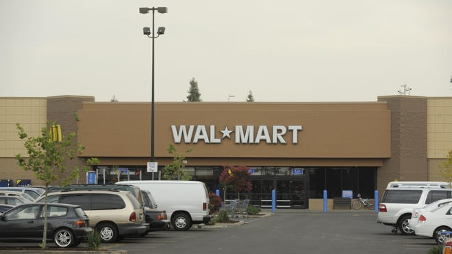 The Walmart department store at 1819 E. Noble Ave. in Visalia.