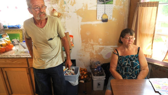 The fight to keep and maintain their Detroit home have taxed the health of James and Ronda Yeley. The life expectancy in their ZIP code is 70.