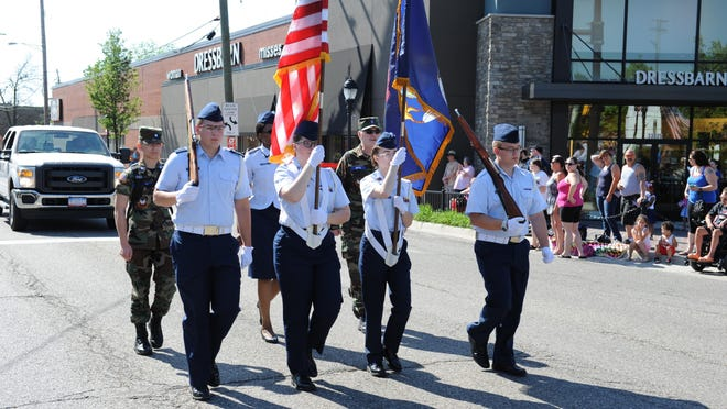 The Farmington-Farmington Hills Memorial Day parade steps off Monday, May 29, at 10 a.m.