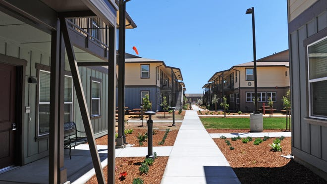 At a ceremony on Wednesday, Tanimura & Antle unveiled Spreckels Crossing, their agricultural employee housing project. The employee-only residential complex consists of 100, two-bedroom, two-bathroom units with the capacity to accommodate up to eight employees per unit.