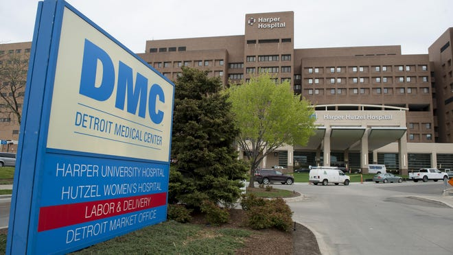 Harper University Hospital is one of the five facilities served by DMC's Central Sterile Processing unit.
