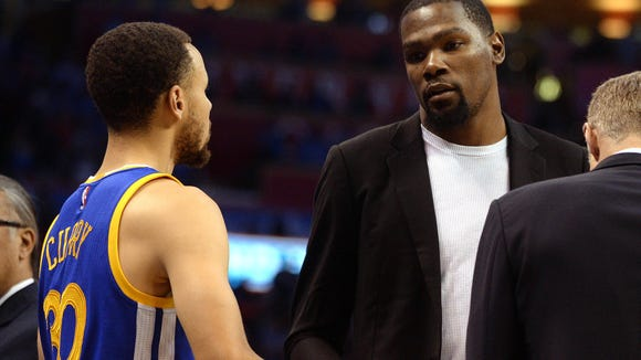 No, Stephen Curry and the Warriors are not better off when Kevin Durant sits