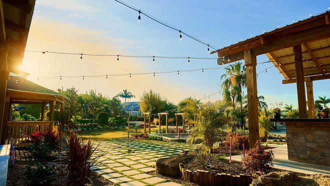 Last month, Rockledge Gardens opened the Harry and Mary Witte Center pavilion and gardens.