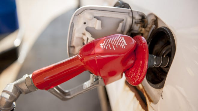 AAA Michigan says average gas prices statewide are up about 10 cents from a week ago to about $2.17 per gallon.