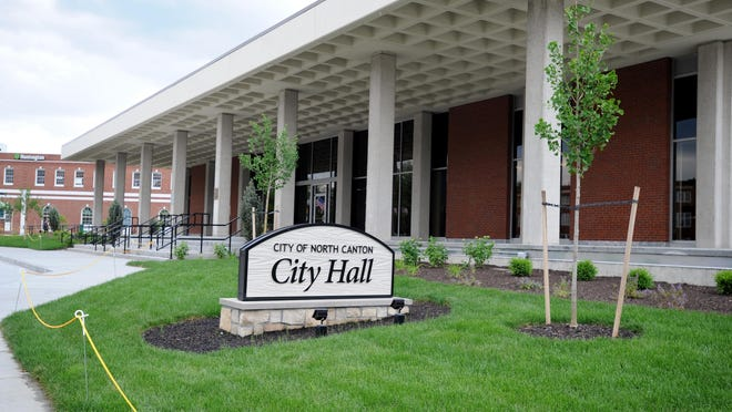 North Canton City Hall where council meets. Tuesday,  June 5, 2018.